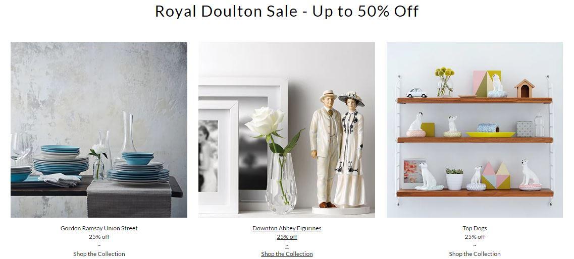 Royal Doulton dealvoucherz.com voucher codes