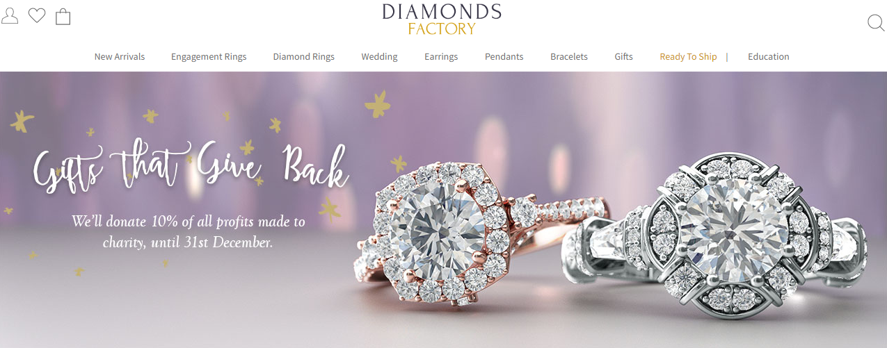diamonds factory dealvoucherz.com voucher codes