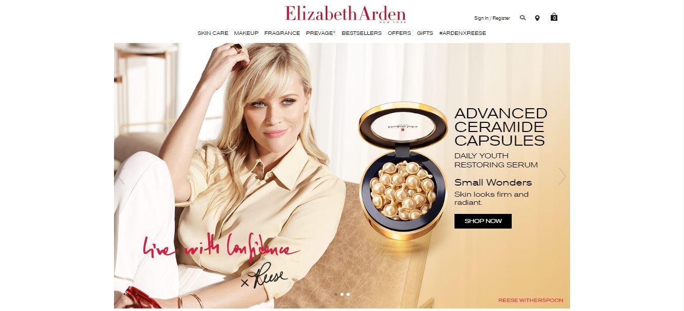 Elizabeth Arden Discount code at Dealvoucherz